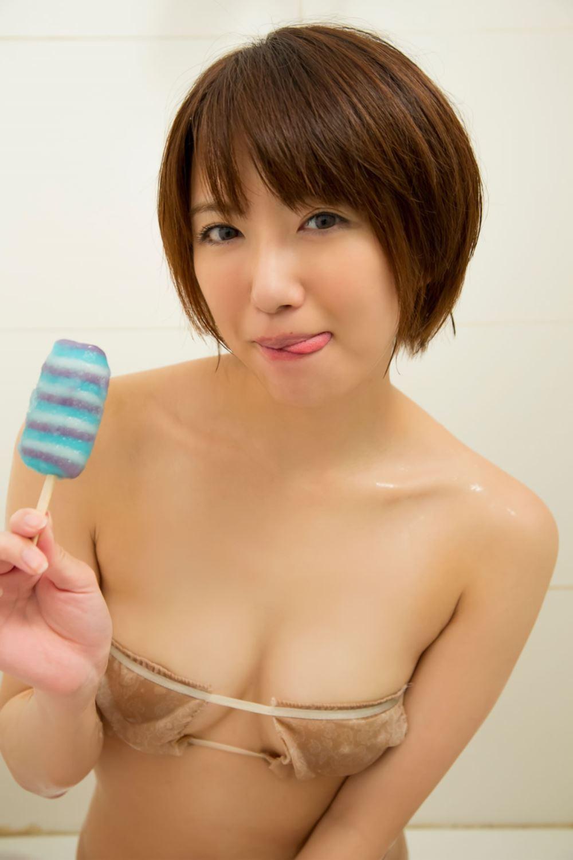 浅倉結希 ショートカット 可愛い 水着 グラビア 画像 93