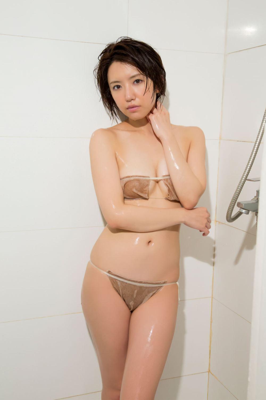 浅倉結希 ショートカット 可愛い 水着 グラビア 画像 94