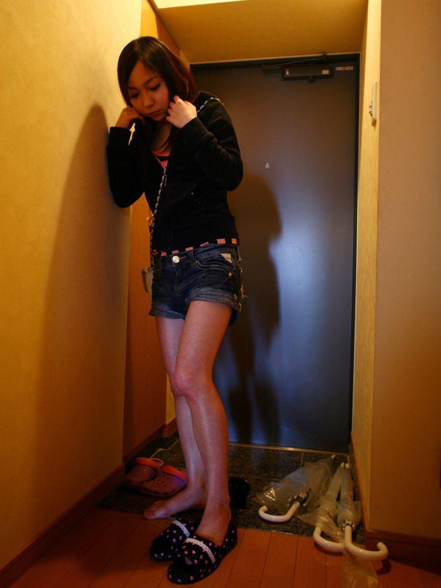 素人 ギャル 自宅 ハメ撮り セックス画像 10