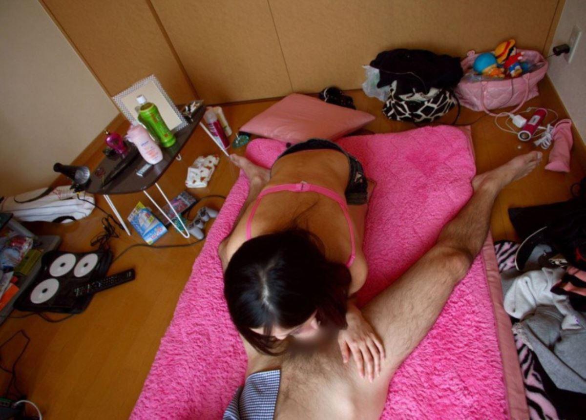 素人 ギャル 自宅 ハメ撮り セックス画像 18