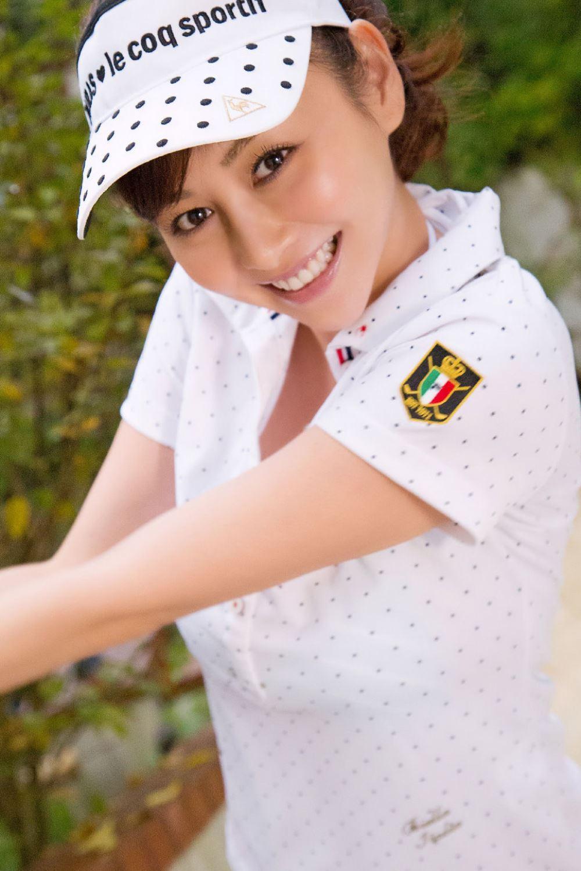 杉原杏璃 ゴルフウェア CA 水着 コスプレ 画像 6