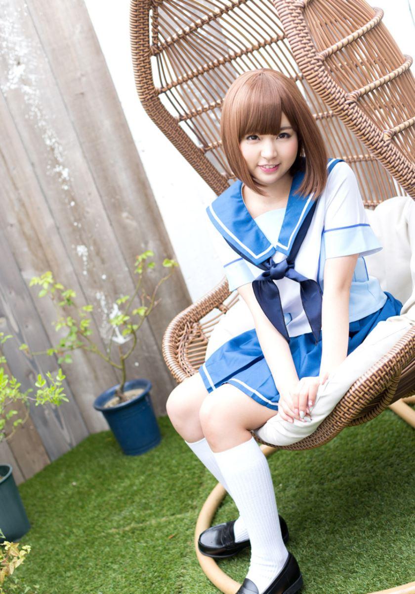 セーラー服 コスプレ 可愛い 彩乃なな ヌード 画像 6