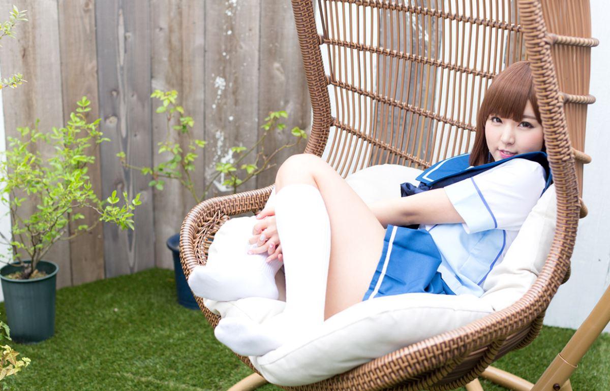セーラー服 コスプレ 可愛い 彩乃なな ヌード 画像 11
