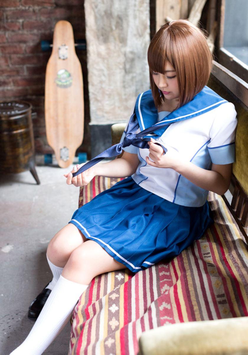 セーラー服 コスプレ 可愛い 彩乃なな ヌード 画像 26