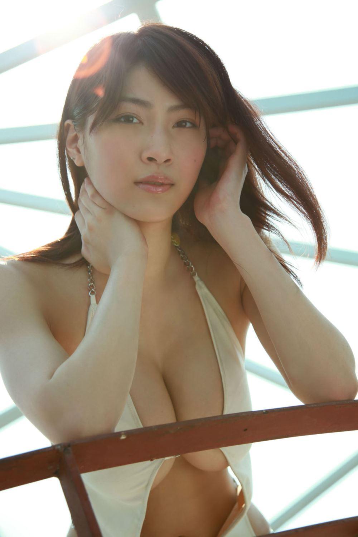 リアル峰不二子 護あさな セクシー 水着 エロ画像 2