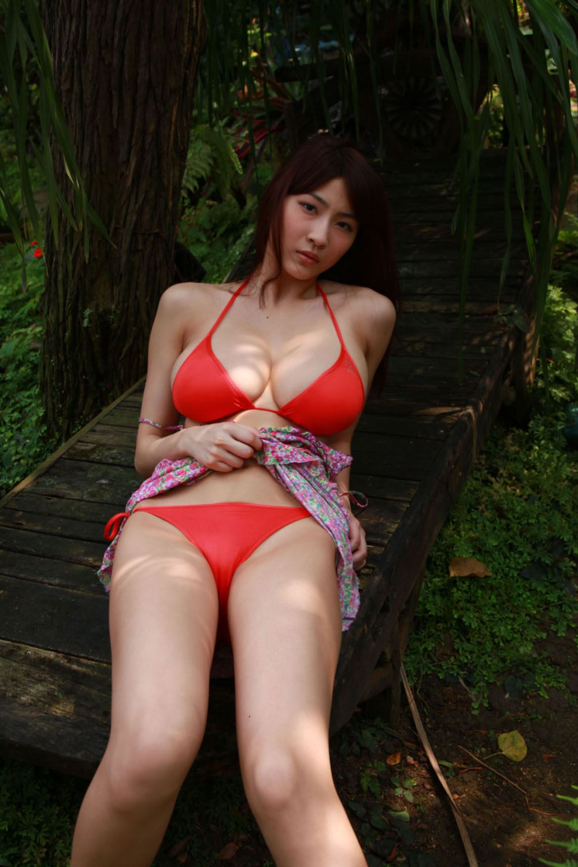 リアル峰不二子 護あさな セクシー 水着 エロ画像 29