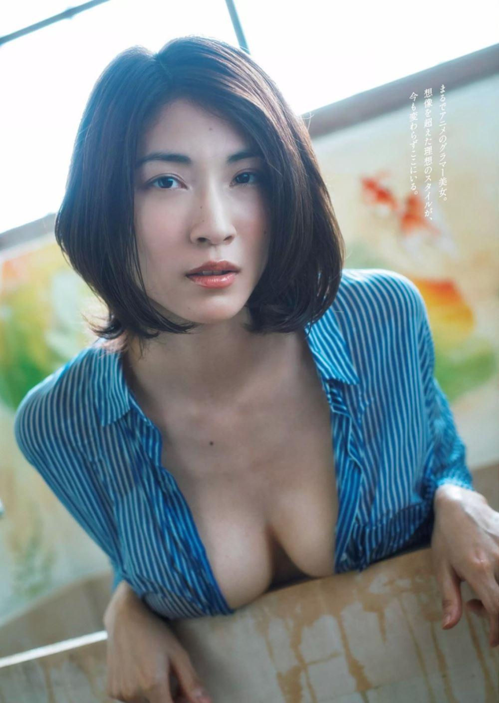 リアル峰不二子 護あさな セクシー 水着 エロ画像 92