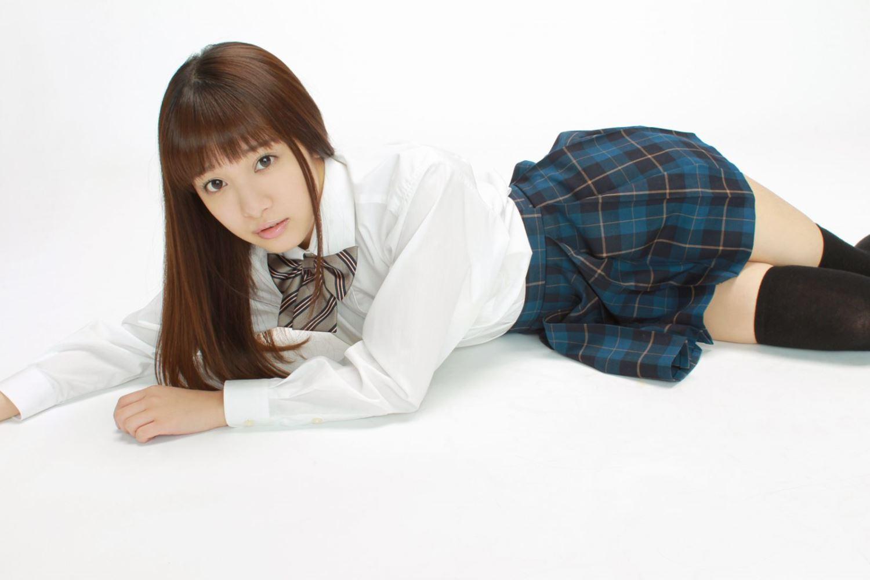 池田ショコラ スクール水着 制服 かわいい エロ画像 10