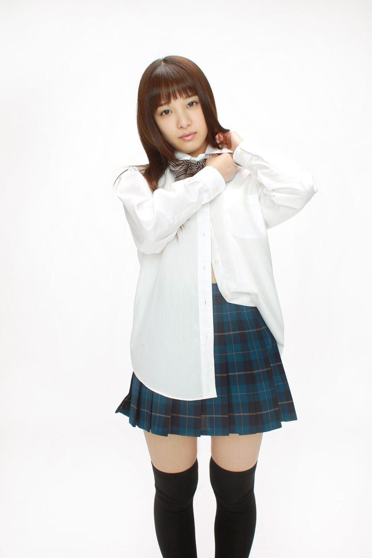 池田ショコラ スクール水着 制服 かわいい エロ画像 15