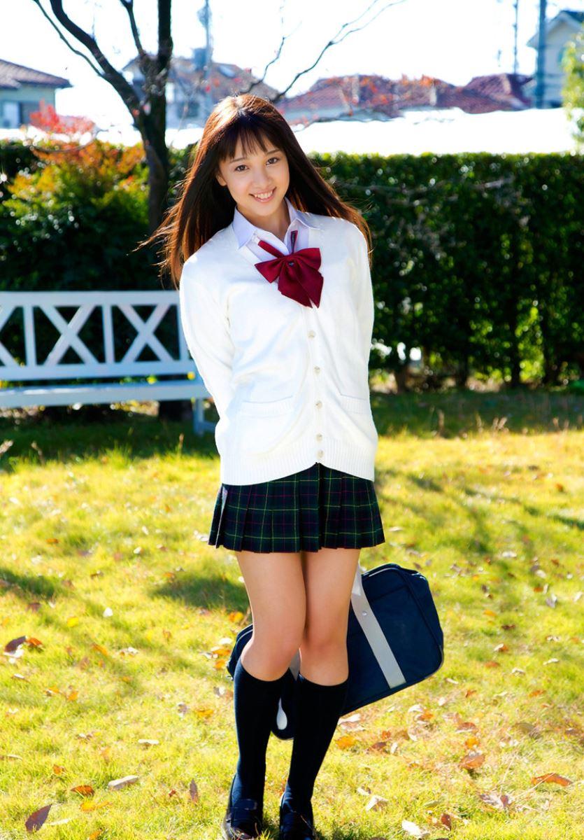 池田ショコラ スクール水着 制服 かわいい エロ画像 53