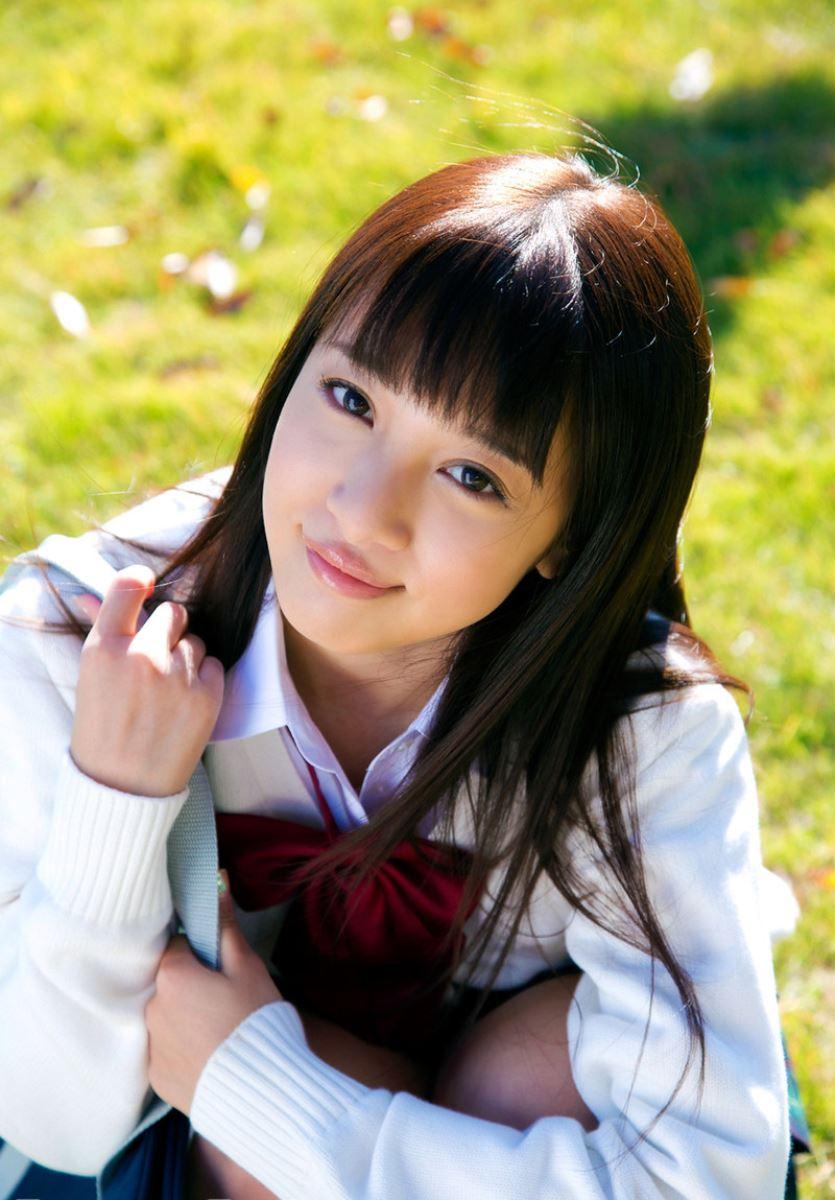 池田ショコラ スクール水着 制服 かわいい エロ画像 56