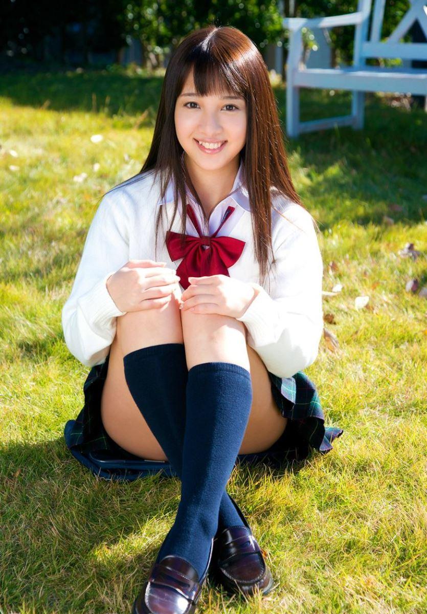池田ショコラ スクール水着 制服 かわいい エロ画像 59