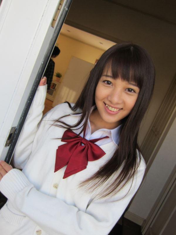 池田ショコラ スクール水着 制服 かわいい エロ画像 97