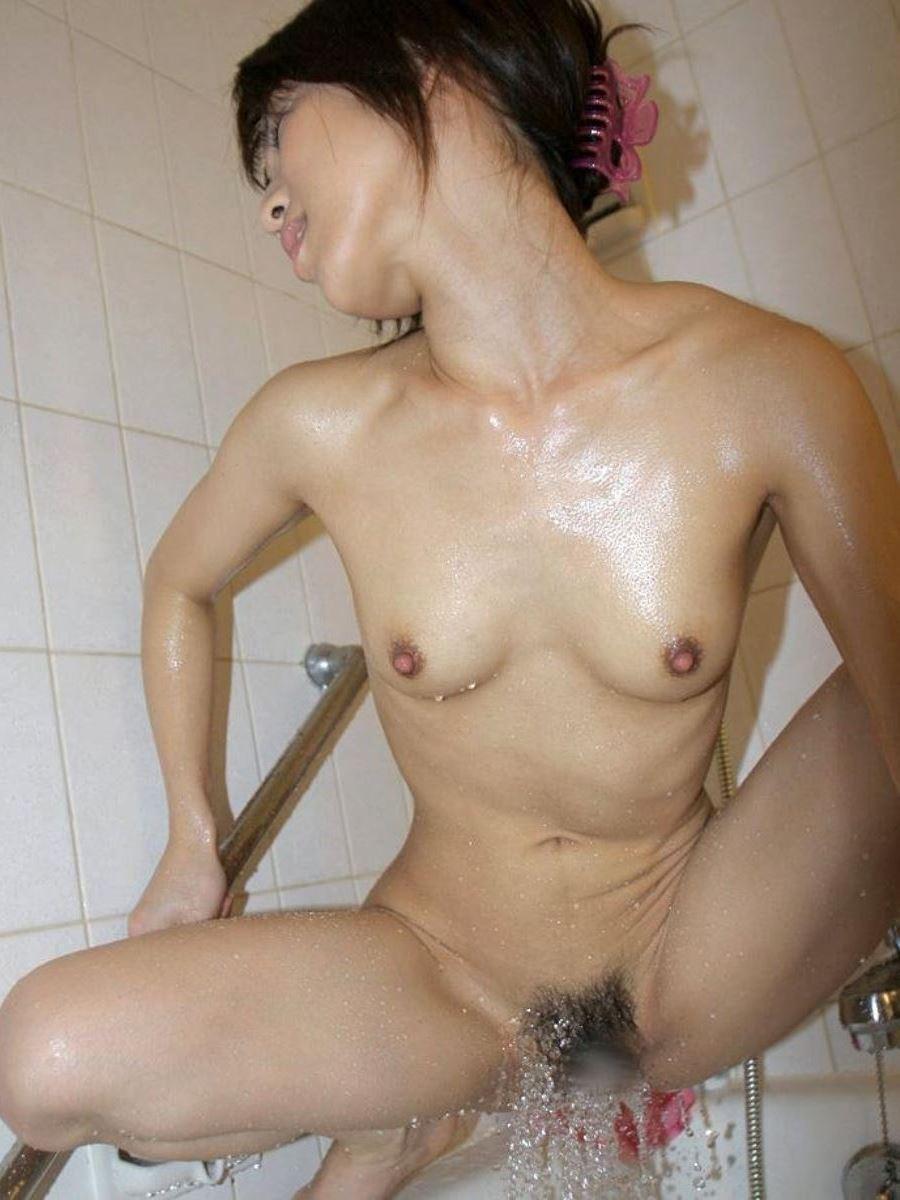 長風呂 姉 妹 シャワーオナニー エロ画像 35