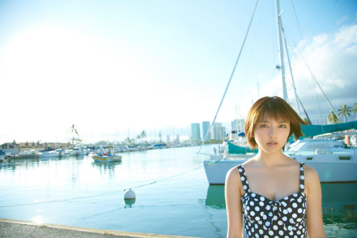 真野恵里菜のビキニ姿が可愛い高画質グラビア画像 55