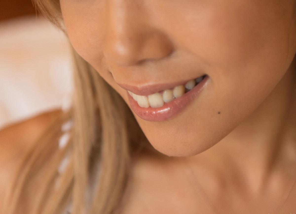 ハメ撮りでイキ狂う金髪黒ギャルSEX画像 28