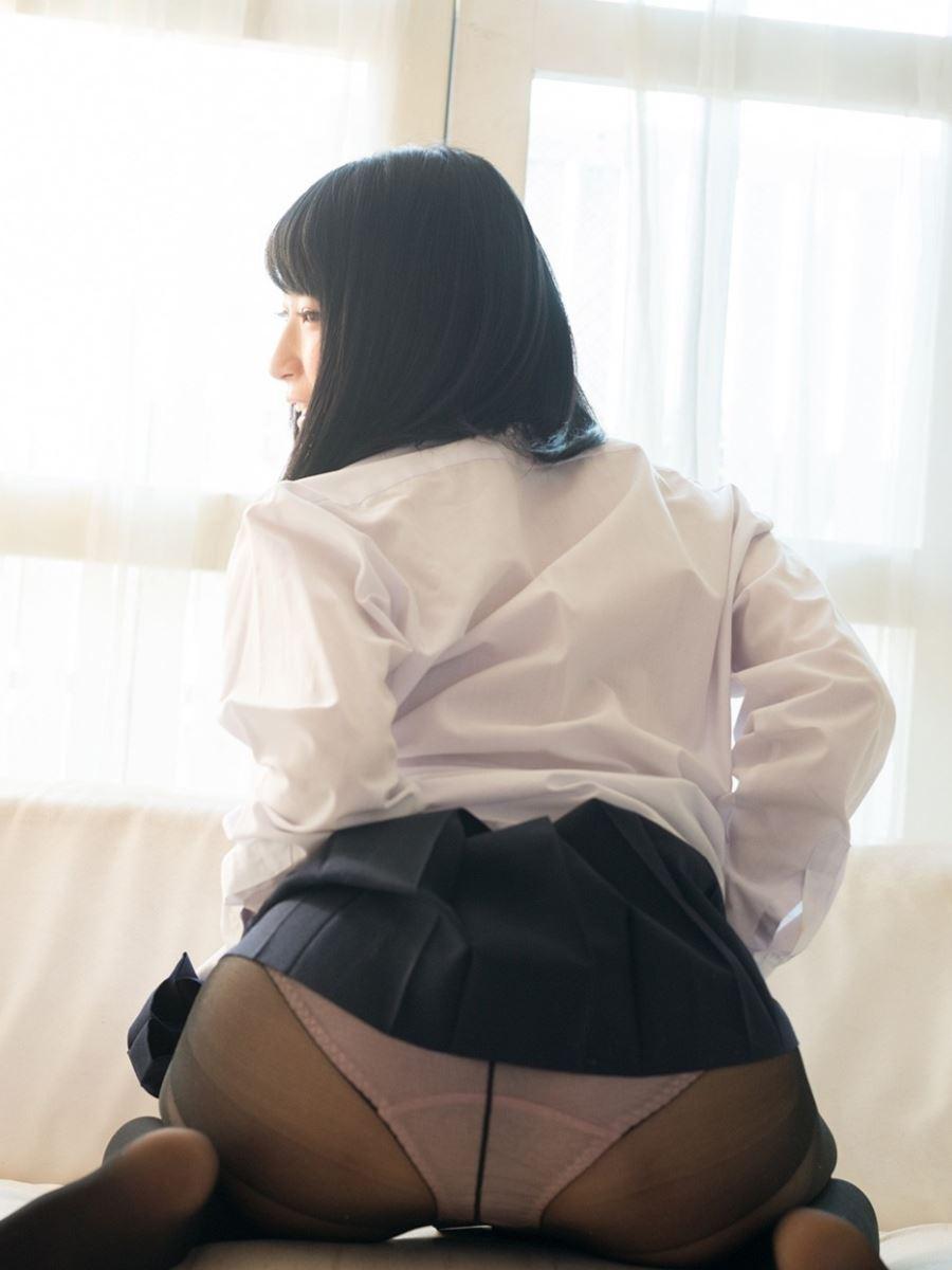 童顔素人にJKっぽく制服を着させたハメ撮りセックス画像 49