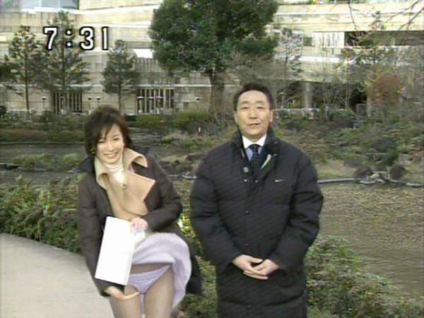 芸能人 地上波 スカートの中 パンチラ 放送事故 エロ画像 2