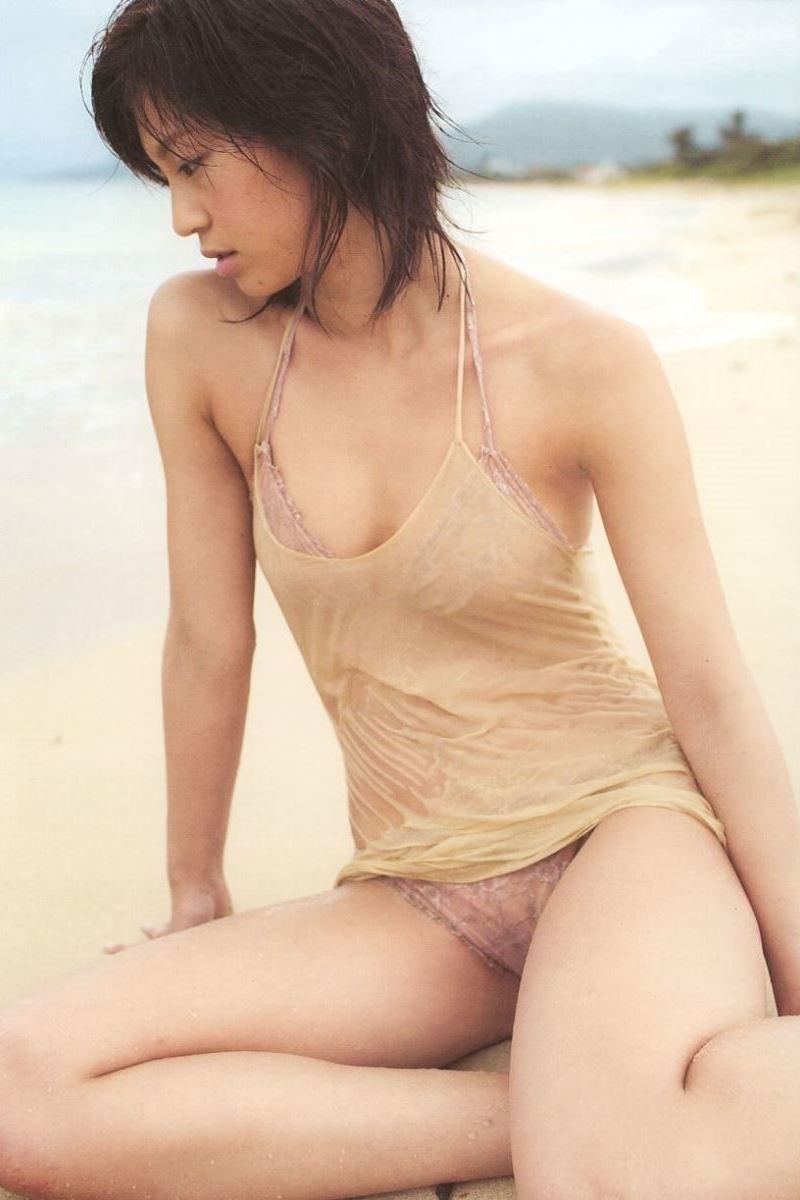 安田美沙子 水着グラビア写真集「ナマミサ」画像 8