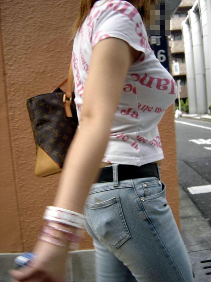 巨乳素人 街撮り 着衣おっぱい画像 13