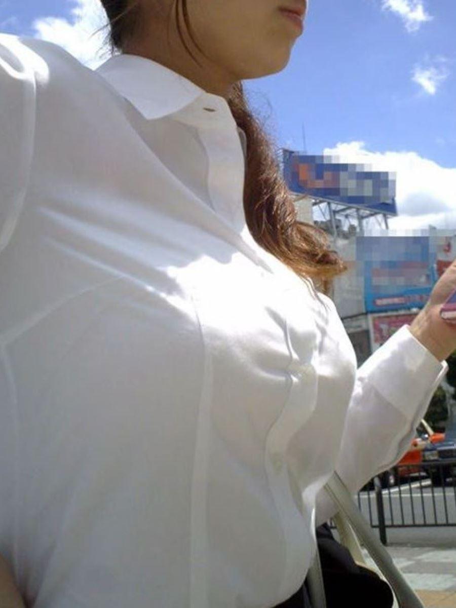 巨乳素人 街撮り 着衣おっぱい画像 87