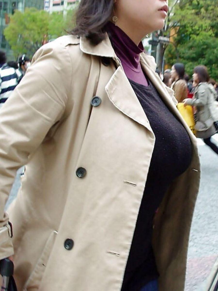 巨乳素人 街撮り 着衣おっぱい画像 94
