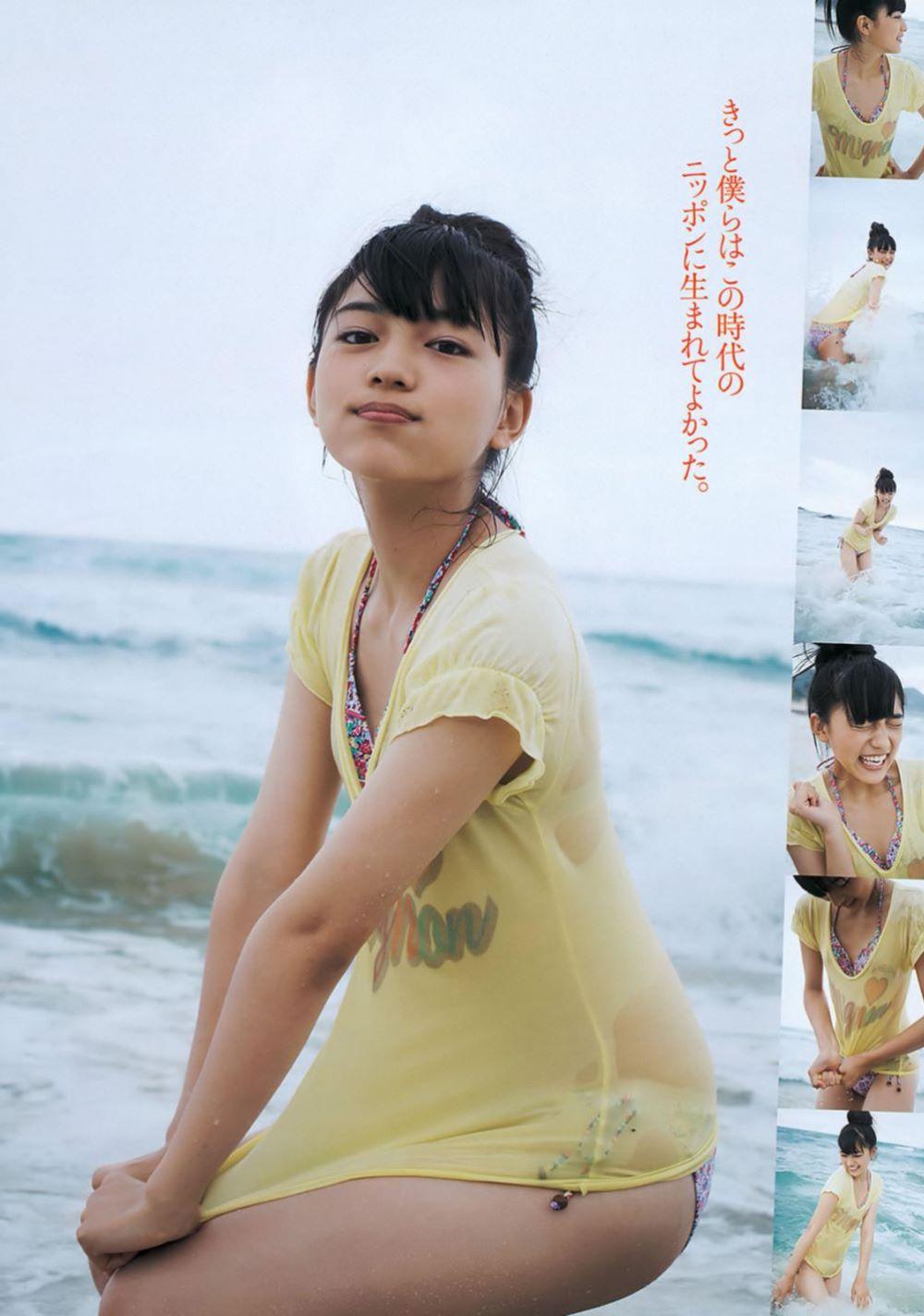 川口春奈の最新ビキニでシコれる水着グラビア画像 36