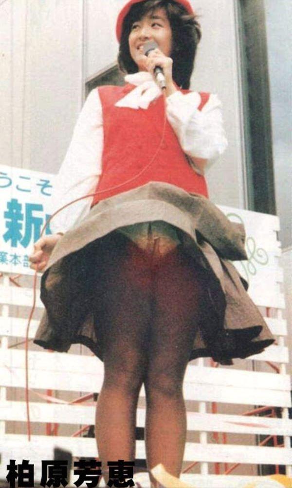 懐かしい アイドル 女優 パンチラ 芸能人 お宝 エロ画像 1