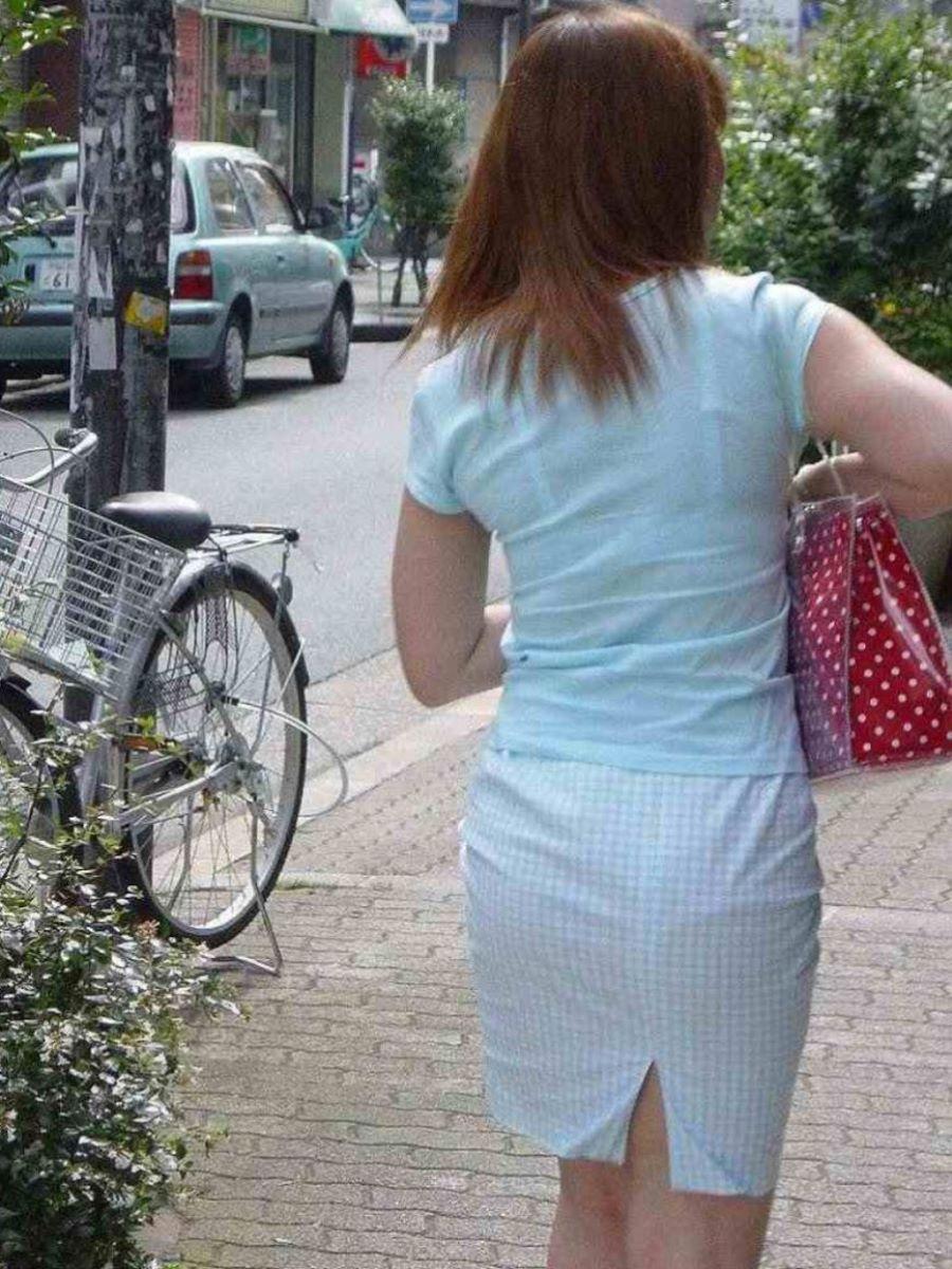街撮り ブラ線 透けブラ 画像 72