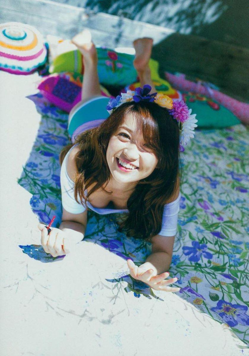 大島優子のオカズ写真集「脱ぎやがれ!」画像 8
