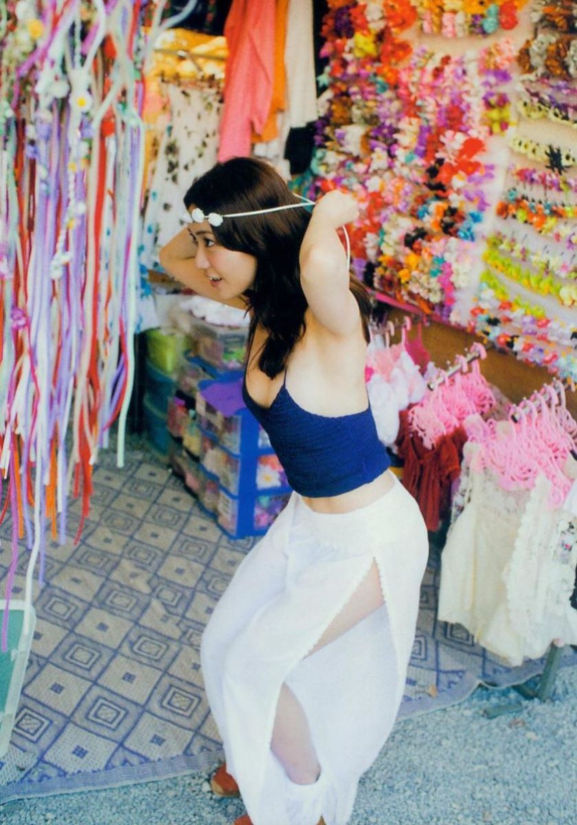 大島優子のオカズ写真集「脱ぎやがれ!」画像 52