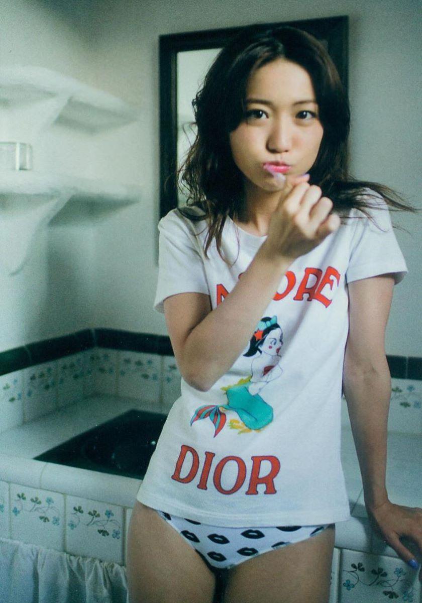 大島優子のオカズ写真集「脱ぎやがれ!」画像 81