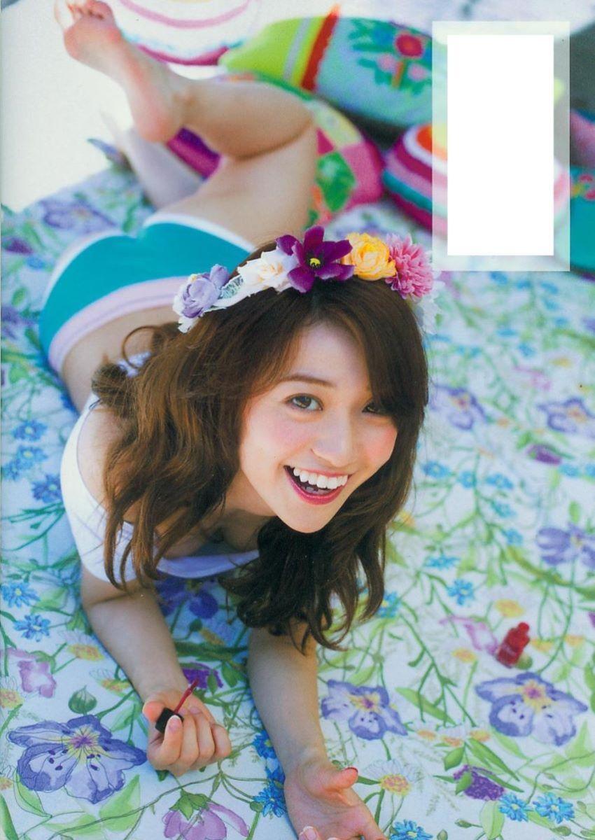 大島優子のオカズ写真集「脱ぎやがれ!」画像 110