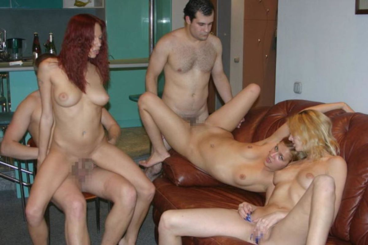 海外の乱交パーティー・セックス画像 72