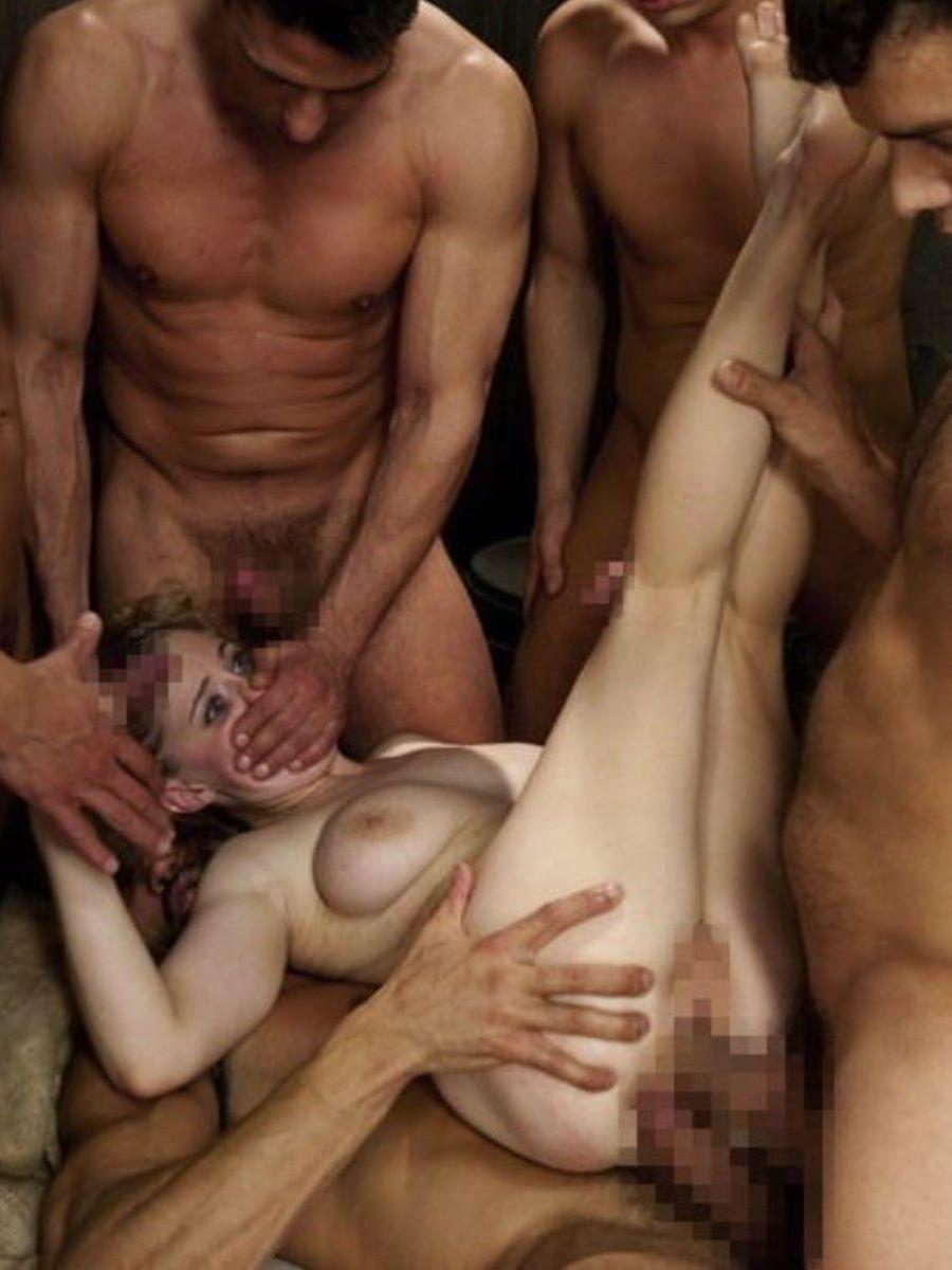 海外の乱交パーティー・セックス画像 90
