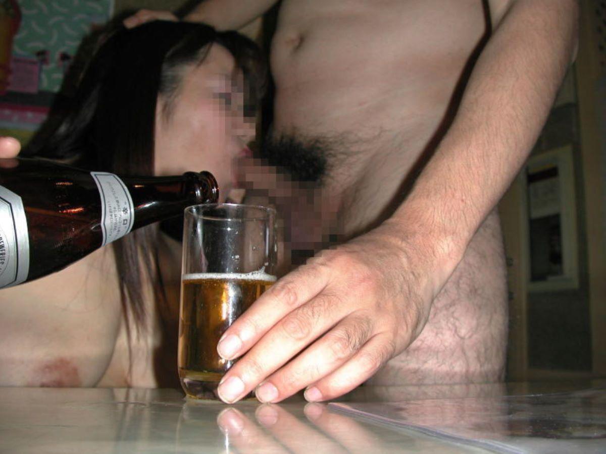 お酒を飲んでハメ外し過ぎた悪ノリ淫行画像 33