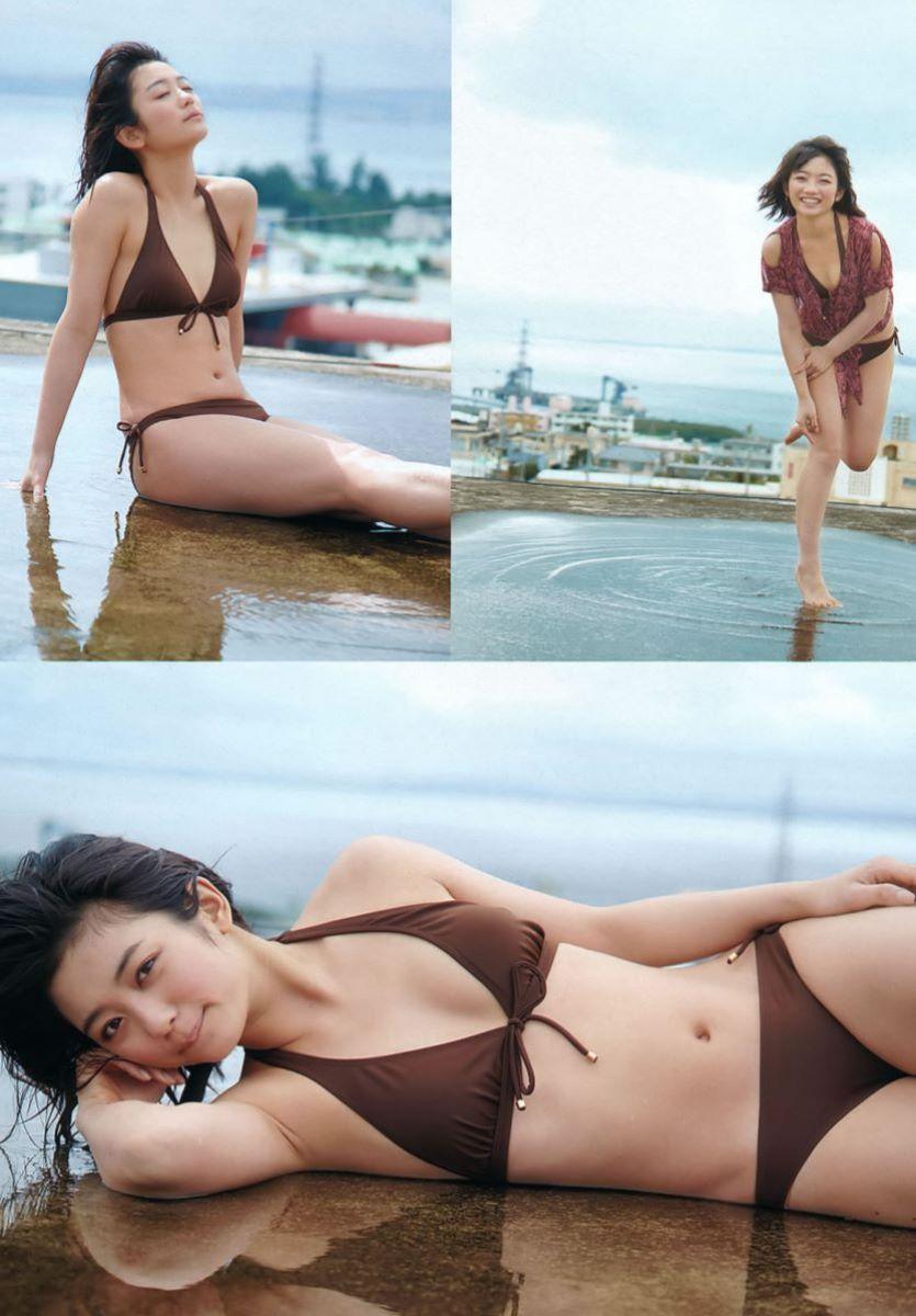 森田涼花 ちっぱい かわいい 水着グラビア画像 24