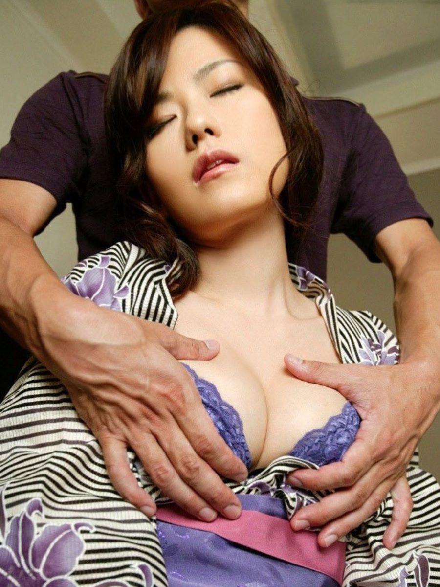 着物や浴衣の和服セックス画像 61