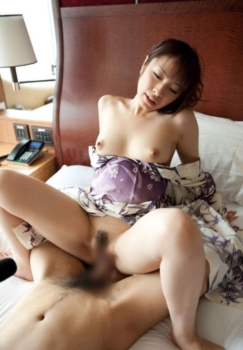着物や浴衣の和服セックス画像 64