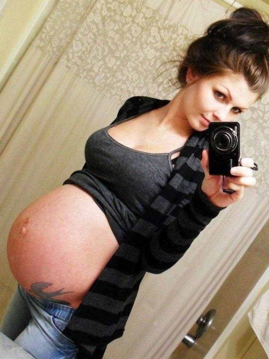 妊娠中の妊婦の裸・マタニティーヌード画像 49