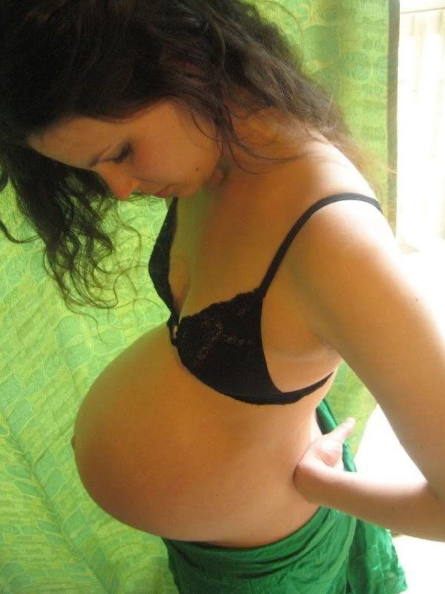 妊娠中の妊婦の裸・マタニティーヌード画像 65