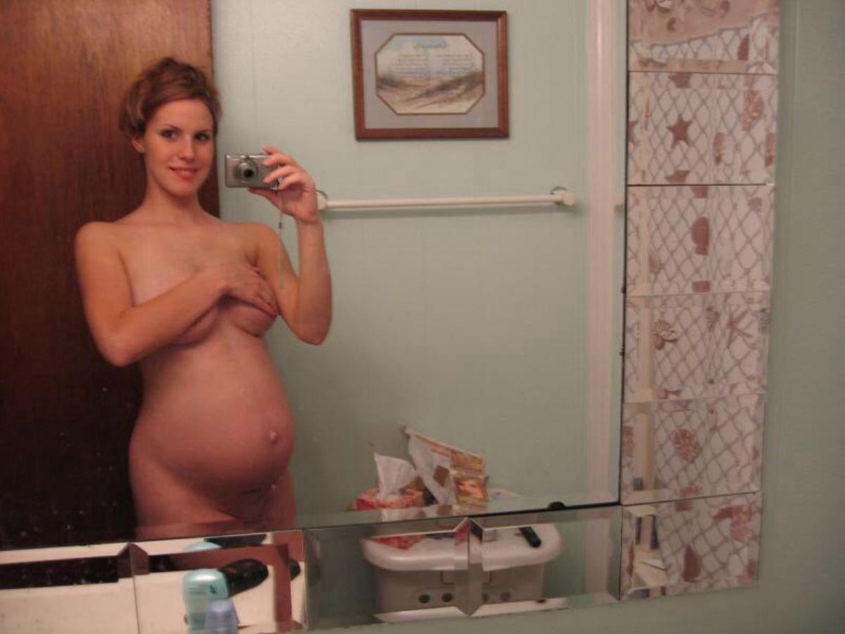 妊娠中の妊婦の裸・マタニティーヌード画像 71