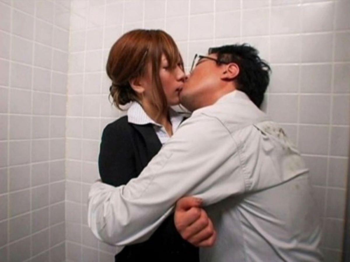公衆便所 セックス画像 1