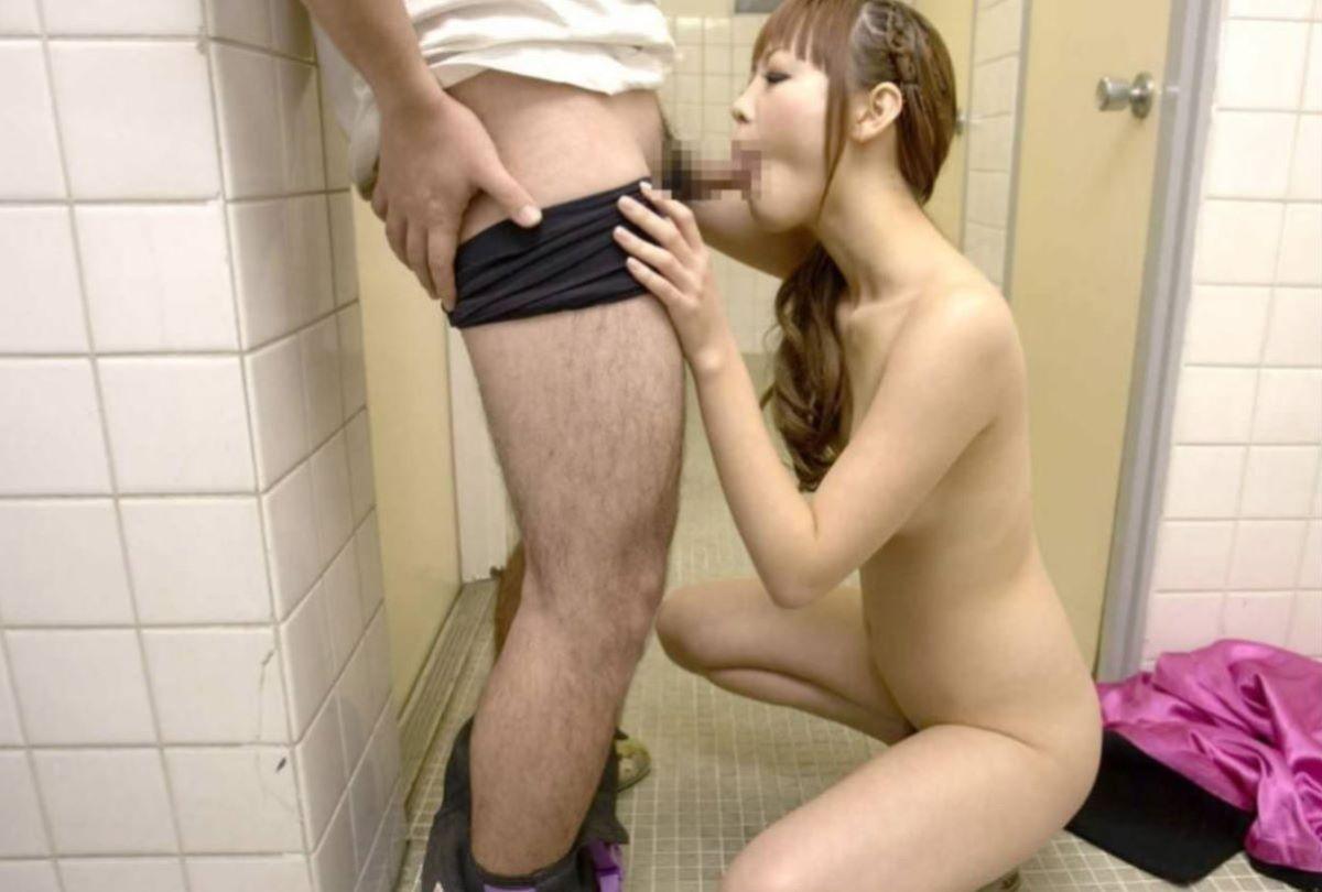 公衆便所 セックス画像 26