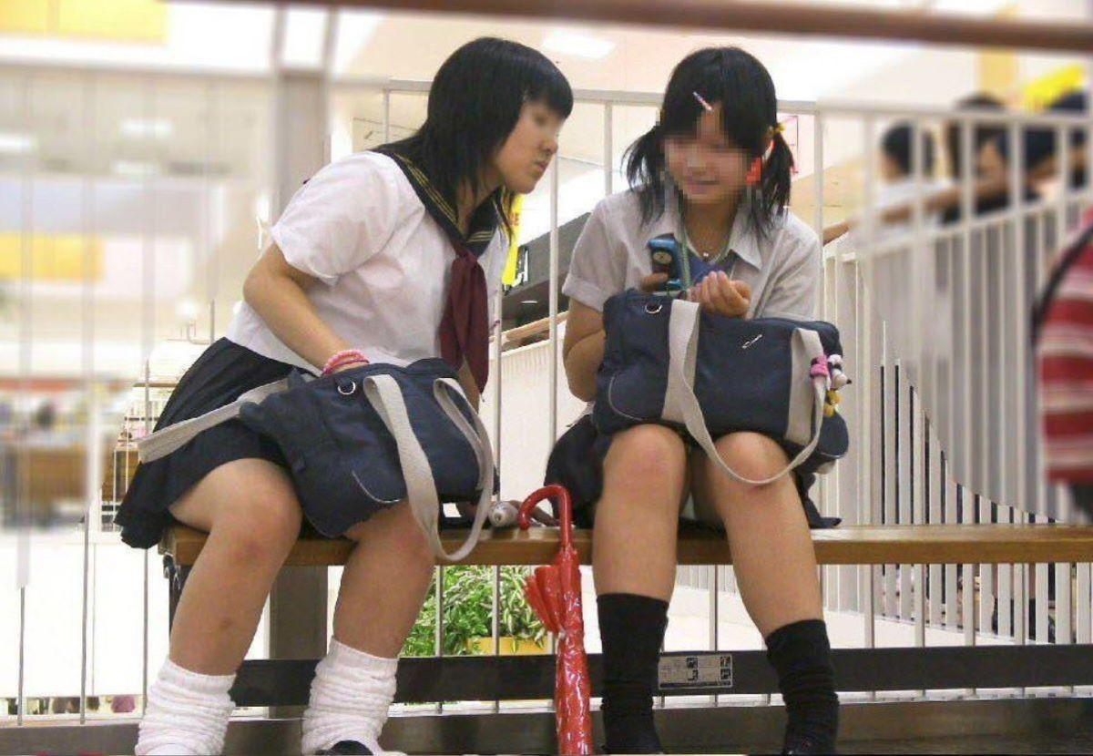 制服JK 女子高生 通学風景 画像 60