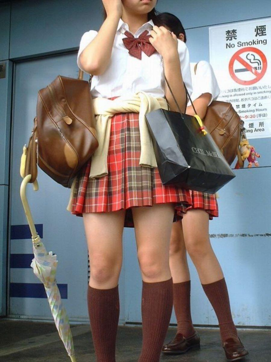 制服JK 女子高生 通学風景 画像 67