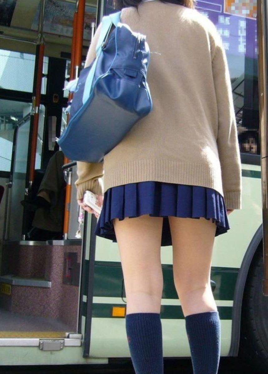 制服JK 女子高生 通学風景 画像 71