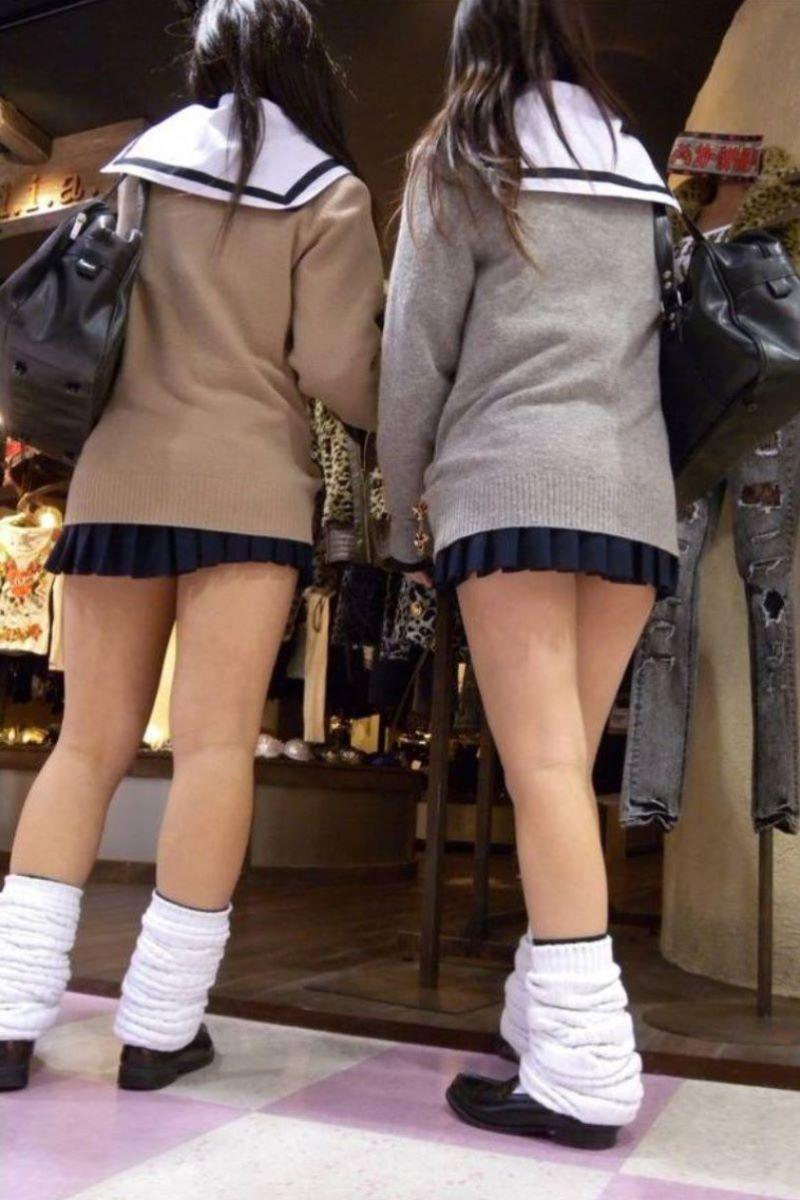 制服JK 女子高生 通学風景 画像 82