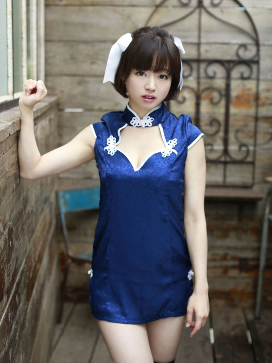チャイナ服 喜屋武ちあき セクシー画像 26