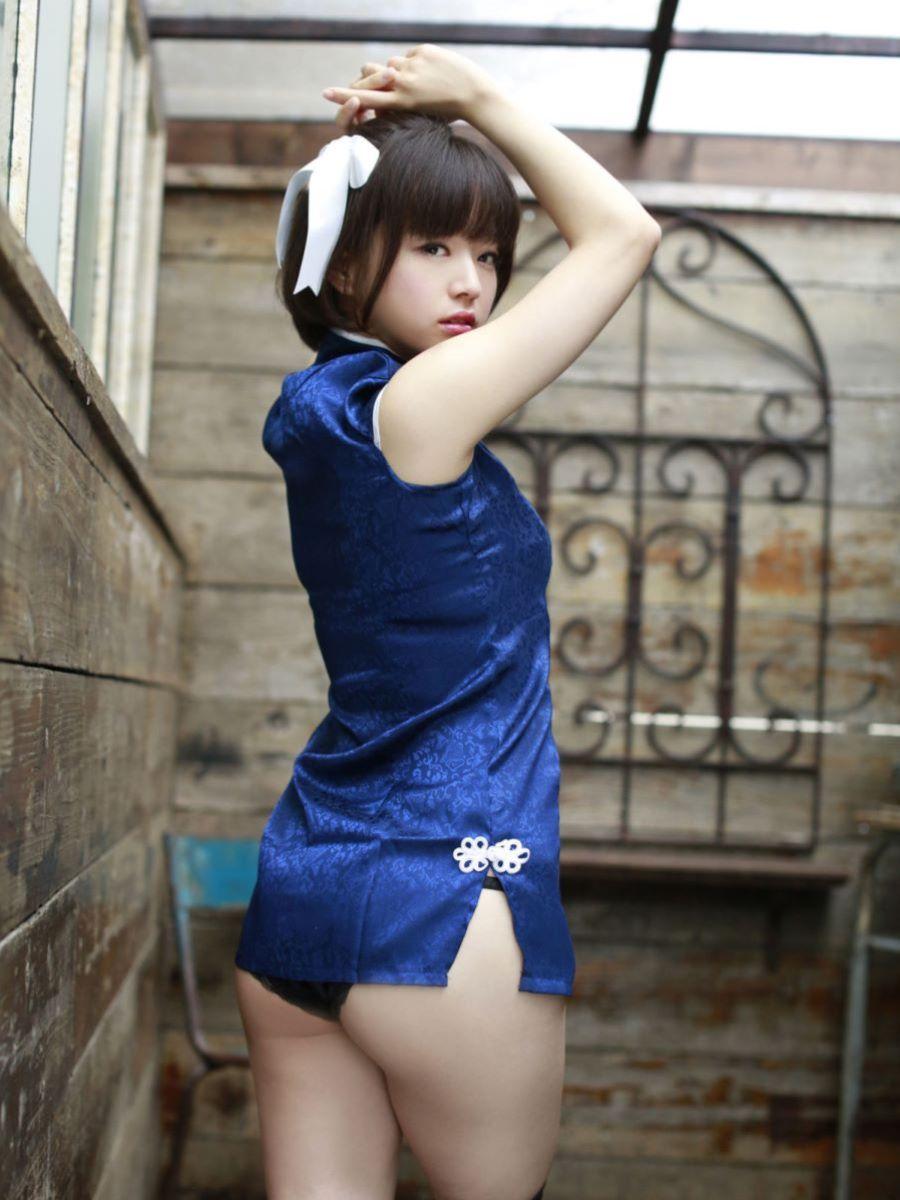 チャイナ服 喜屋武ちあき セクシー画像 29